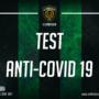 TEST ANTI COVID-19, POSITIVI QUATTRO COMPONENTI DEL GRUPPO SQUADRA. CONTRO IL CASARANO IL 17 MARZO