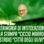 """CERIMONIA INTITOLAZIONE SALA STAMPA """"CICCIO MARRONE"""", DOMANI IN DIRETTA FACEBOOK DALLE 15,30"""